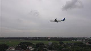 Landing Lion Air, Garuda Indonesia, Sriwijaya Air, Batik Air, NAM Air, Air Asia dan Citilink