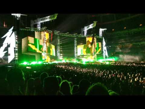Metallica Master of Puppets live at Mile High Stadium