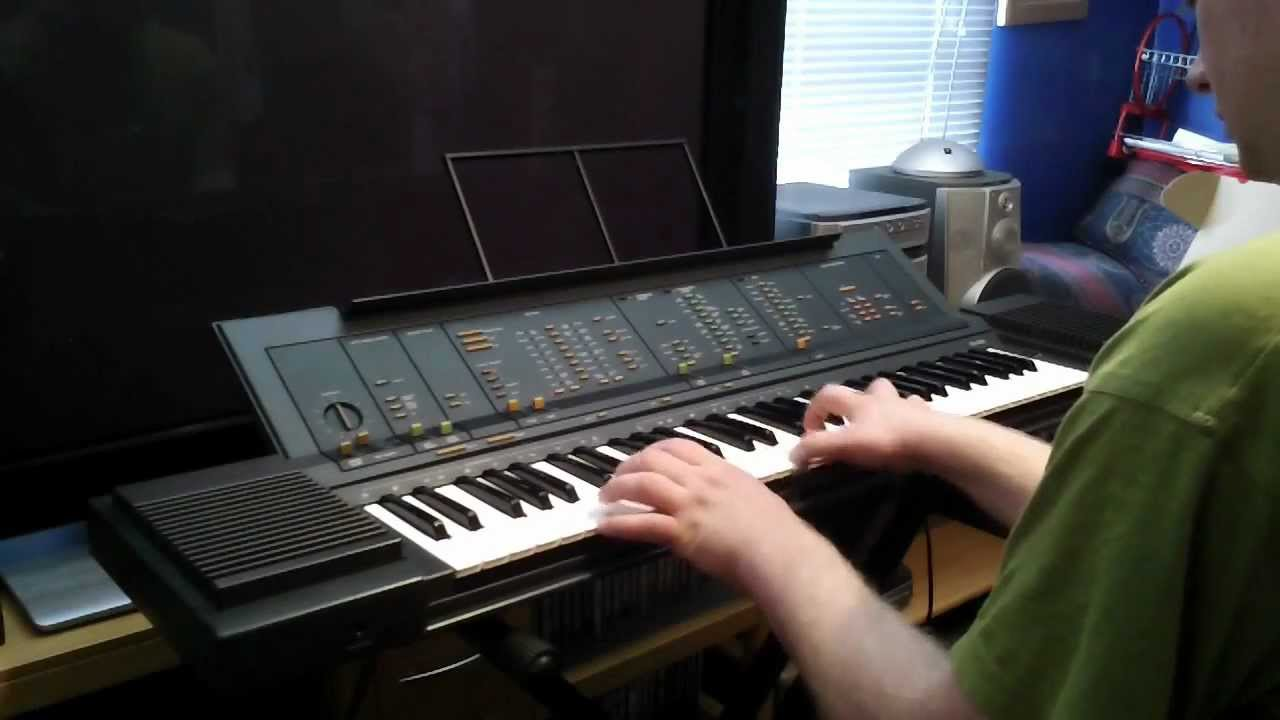 Yamaha PS 6100 Keyboard Sounds And Features