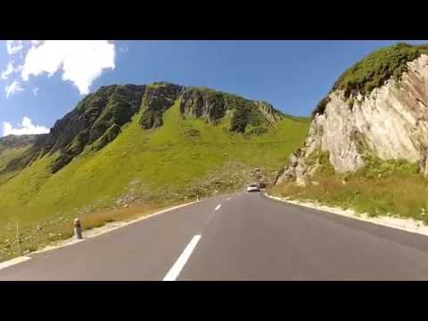 Swiss Alps motorcycle ride
