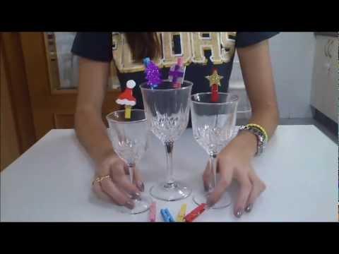Cmo decorar pinzas para Navidad facilisimocom YouTube