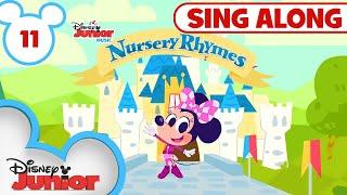 Sing Along Nursery Rhymes Part 11 🎀  🎶Disney Junior Music Nursery Rhymes   Disney Junior
