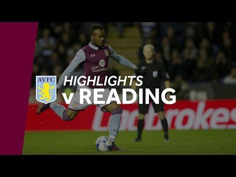 Reading 1-2 Aston Villa   Highlights