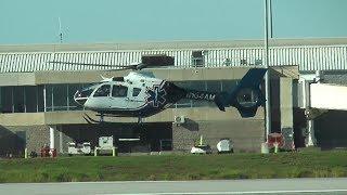 Eurocopter EC-135 Landing Pensacola International Airport