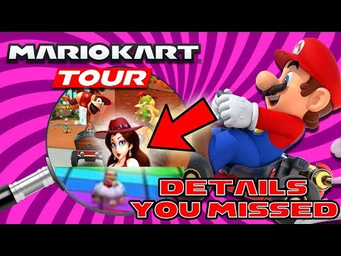 Mario Kart Tour Trailer Everything You Missed Diddykong Pauline Bowser Jr