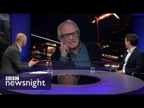 'Sanctions are cruel and vindictive': Ken Loach - BBC Newsnight