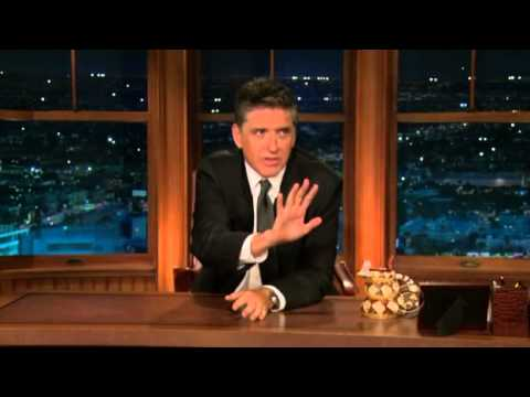 Late Late Show with Craig Ferguson 9/3/2009 Carrie Fisher, DJ Qualls, Jason Ritter (bumped)