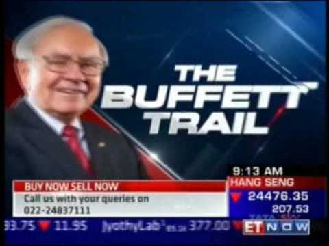 The Buffet Trail with Mr. Raamdeo Agrawal from Omaha on ET Now