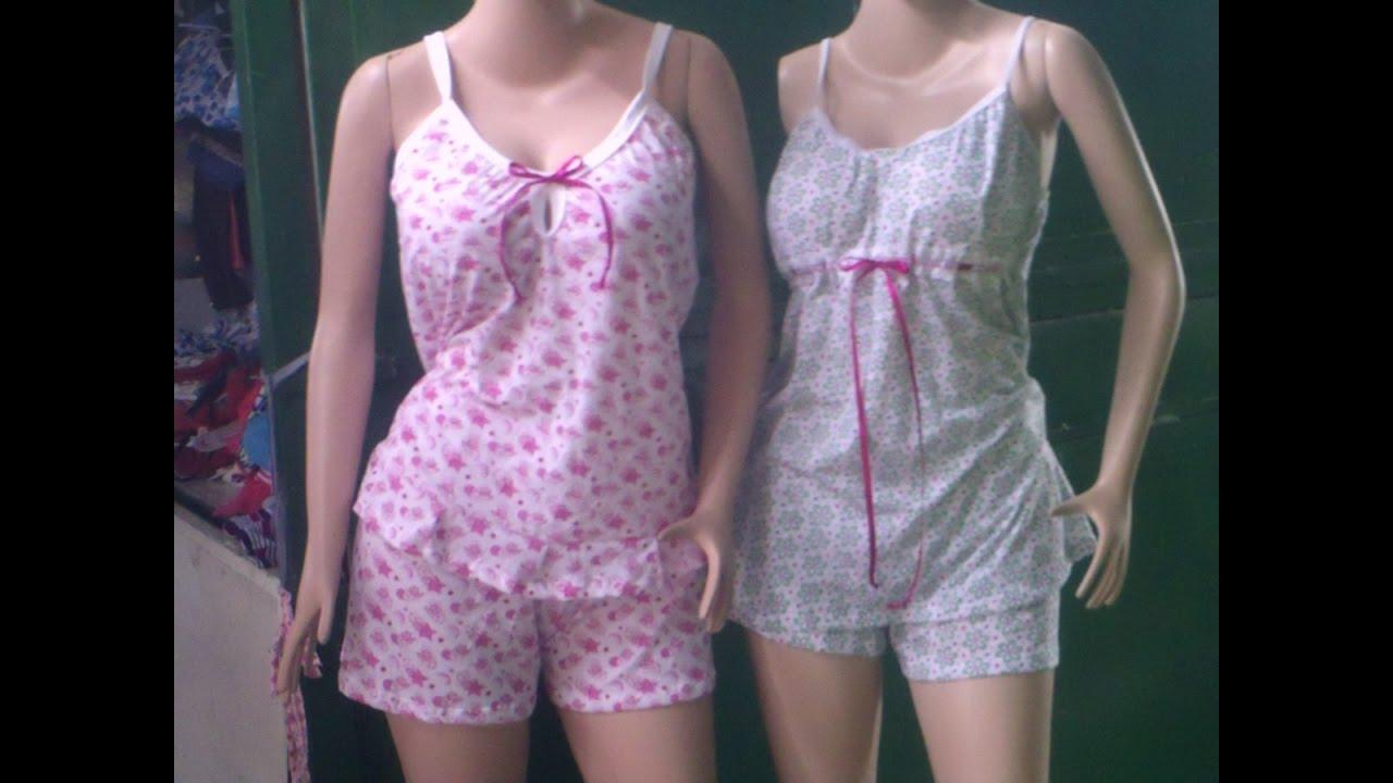 6cd590fd6b como hacer una pijama para dama - YouTube