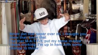 Iggy Azalea   Fancy ft  Charli XCX MattyBRaps & Brooke Adee Cover Lyrics on video