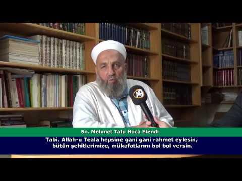 Mehmet Talu Hoca Efendinin, Sn. Adnan Oktar hakkında açıklamaları