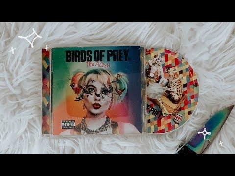 Birds Of Prey Soundtrack Cd Unboxing Youtube