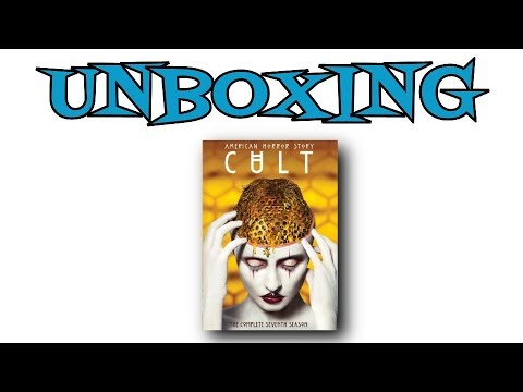 American  Horror Story Cult DVD Unboxing