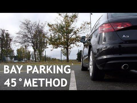 Bay Parking 45 degree method - Driving Test Manoeuvre