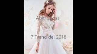 7 Trend Sposa  2018 .     Wedding in Italy Firenze