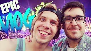 EL FESTIVAL MAS EPICO DE LA HISTORIA | Epic Vlog (EDC Vegas)
