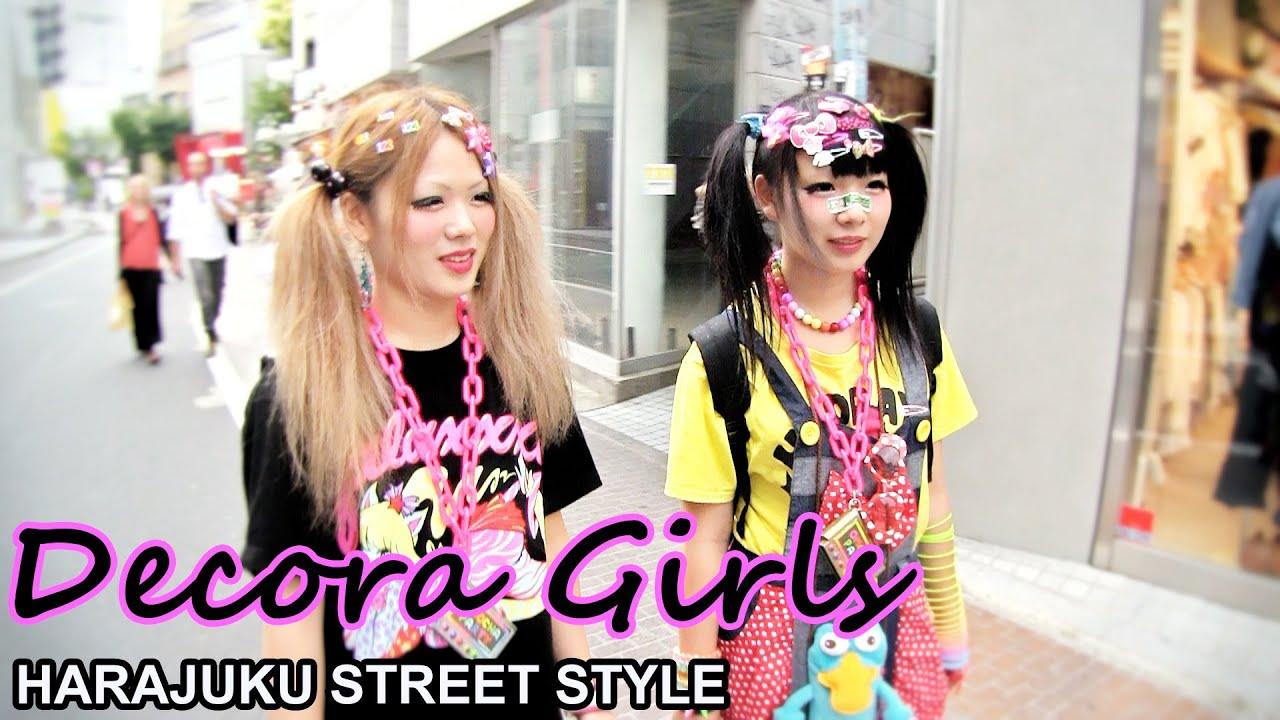 Decora Japanese Decora Girls Galaxxxy Rocks And Omocha Party
