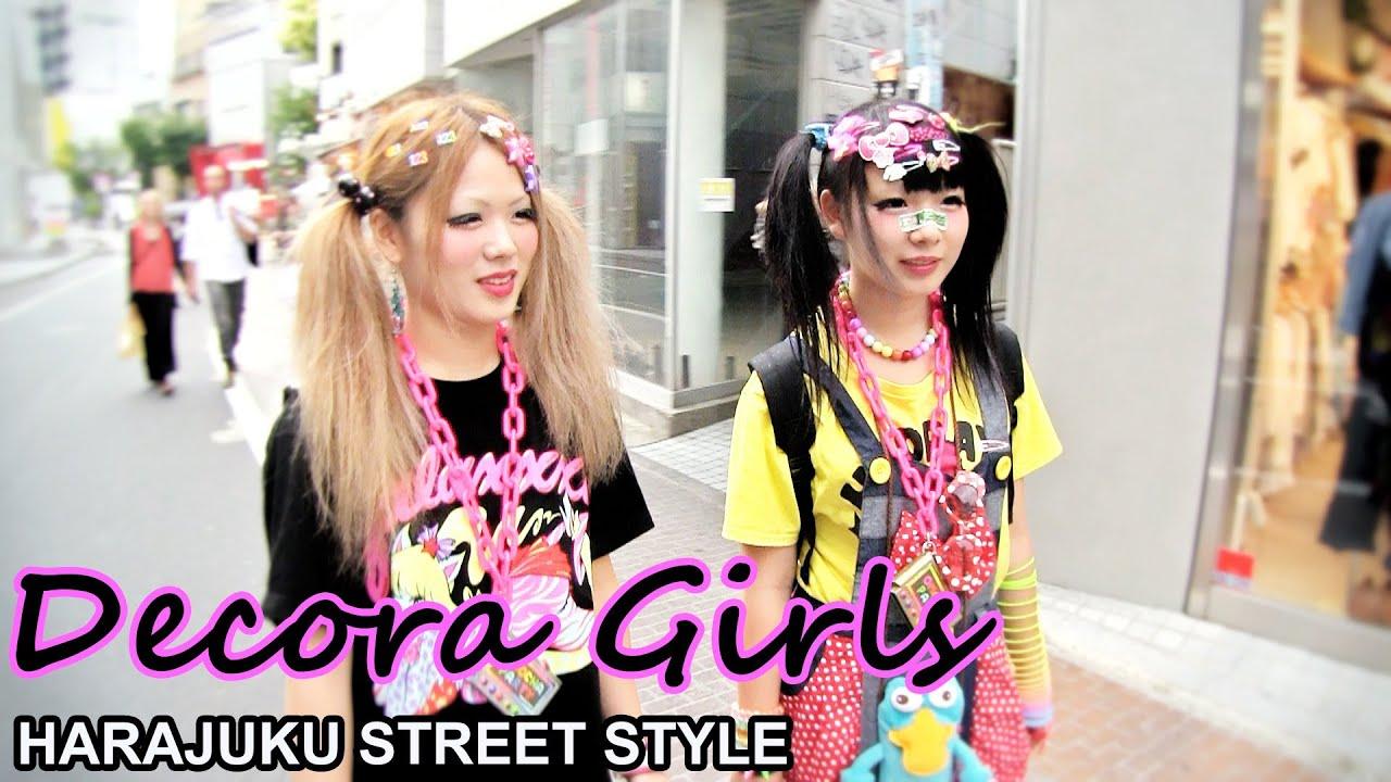 Japanese Decora Girls Galaxxxy Rocks Omocha Party Harajuku Fashion 原宿 デコラ ファッション