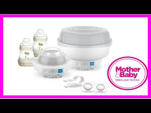 Breaking News | Mam electric steriliser & express bottle warmer