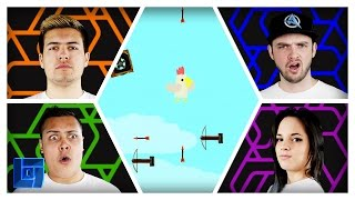Ultimate Chicken Horse: 2v2 w/ Ali A, MasterOV, AshleyMariee & MessYourself | Legends of Gaming