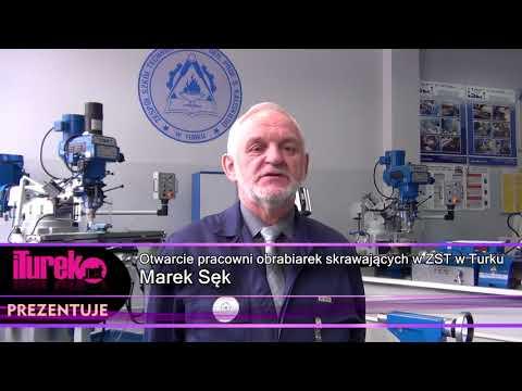 Otwarcie pracowni obrabiarek w ZST w Turku
