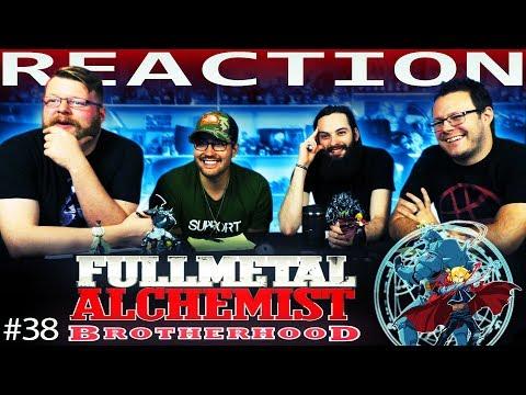 "Fullmetal Alchemist: Brotherhood Episode 38 REACTION!! ""Conflict at Baschool"""
