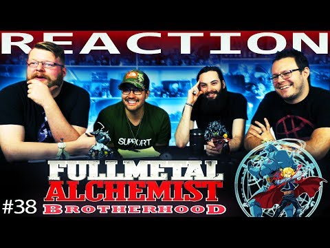 Fullmetal Alchemist: Brotherhood Episode 38 REACTION!!