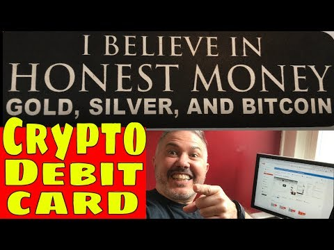Cryptocurrency Bitcoin Litecoin Ethereum  Debit Card... How to Cash Out Crypto into USD Euro Fiat
