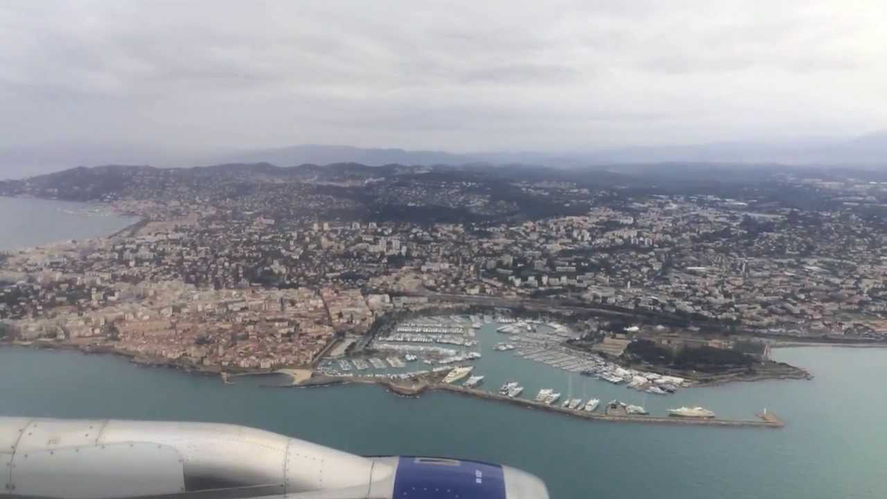 Flying Landing Into Nice C 244 Te D Azur International