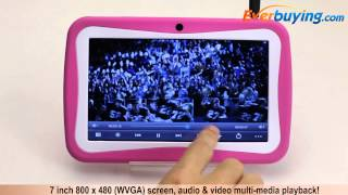 7 inch M755 Android 4.1 Kids Tablet PC from Everbuying.com
