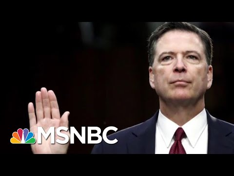 Justice Department Won't Prosecute James Comey For Leaking FBI Memos | Velshi & Ruhle | MSNBC