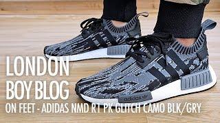 Adidas NMD R1 PK Glitch Camo Black/Grey