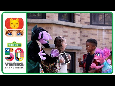 'Sesame Street's' The Count & Abby Play 'Heads Up!' with Brielle & Justin the Drummer