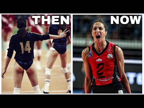 Volleyball THEN And NOW | Volleyball Evolution (HD)