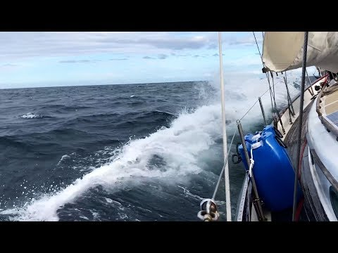 Ep 82 | Horrific Gale Force Winds and the Rush for a Safe Haven, Sailing Nutshell