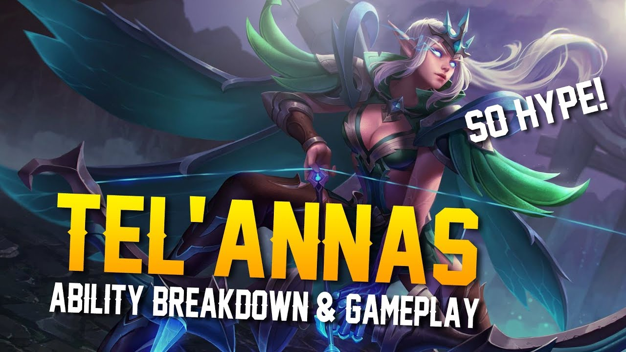 Arena Of Valor News Telannas Abilities Gameplay