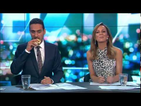 Eat this Pauline Hanson: Waleed Aly eats non-halal certified Easter bunny