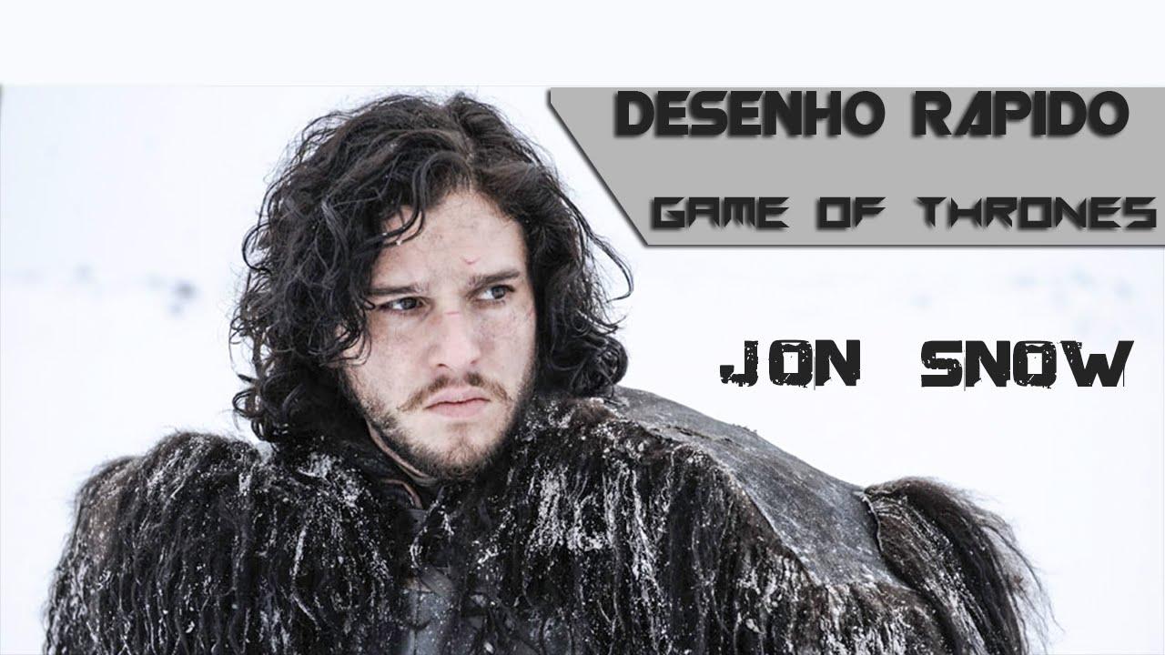 Jon Snow Desenho Rapido Youtube