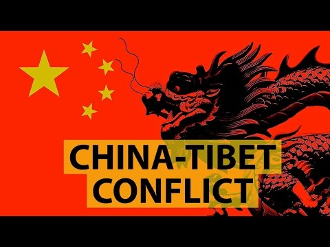 China-Tibet conflict (Real face of China) - Share this video