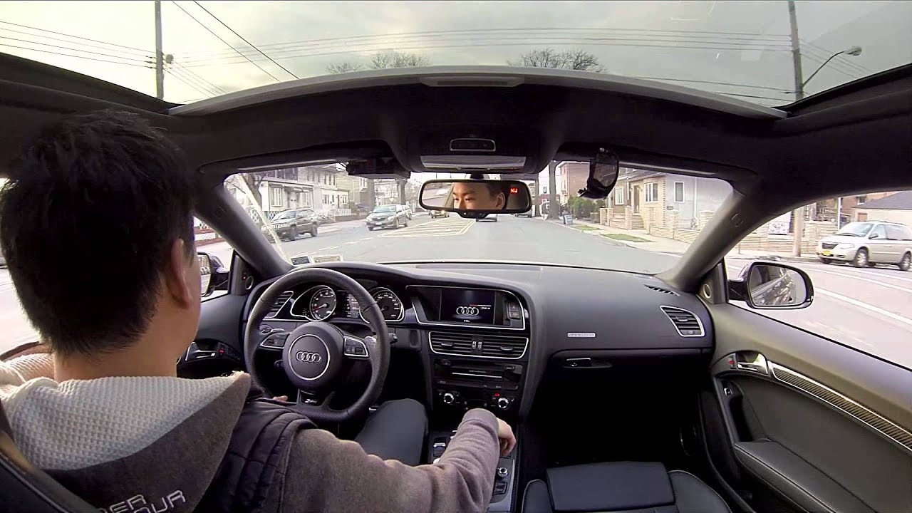 2013 Audi RS5 Coupe - Sunroof Interior Mount - YouTube