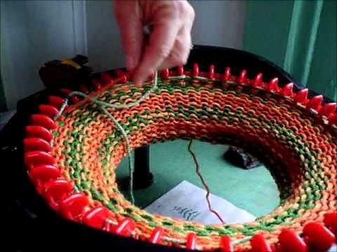 Knitting A Flat Panel On The Addi Express Kingsize