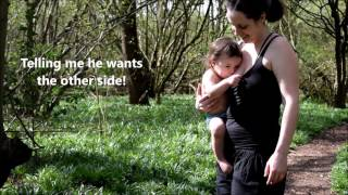 Breastfeeding (standing up) - Active & Passive Holds
