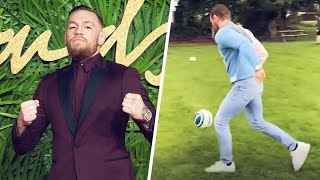 Who would have guessed Conor McGregor knows how to play football? ️ | Oh My Goal