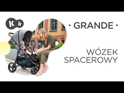 KinderKraft Бебешка количка Grande Черна #szrJVnaEDC4
