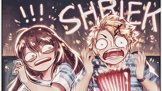 movie theatres with the rfa members mystic messenger comic dub