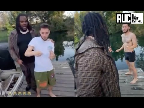 Tee Grizzley And Bodyguard Strip Down Adin Ross For Being Sus