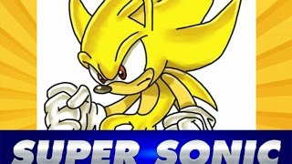 Cómo dibujar a SUPER SONIC | How to draw Super SONIC