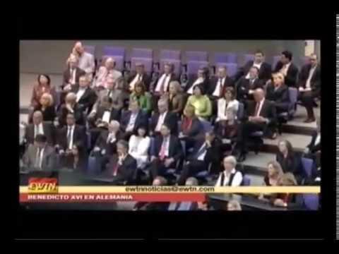 Clase magistral del Papa Benedicto XVI al parlamento Alemán
