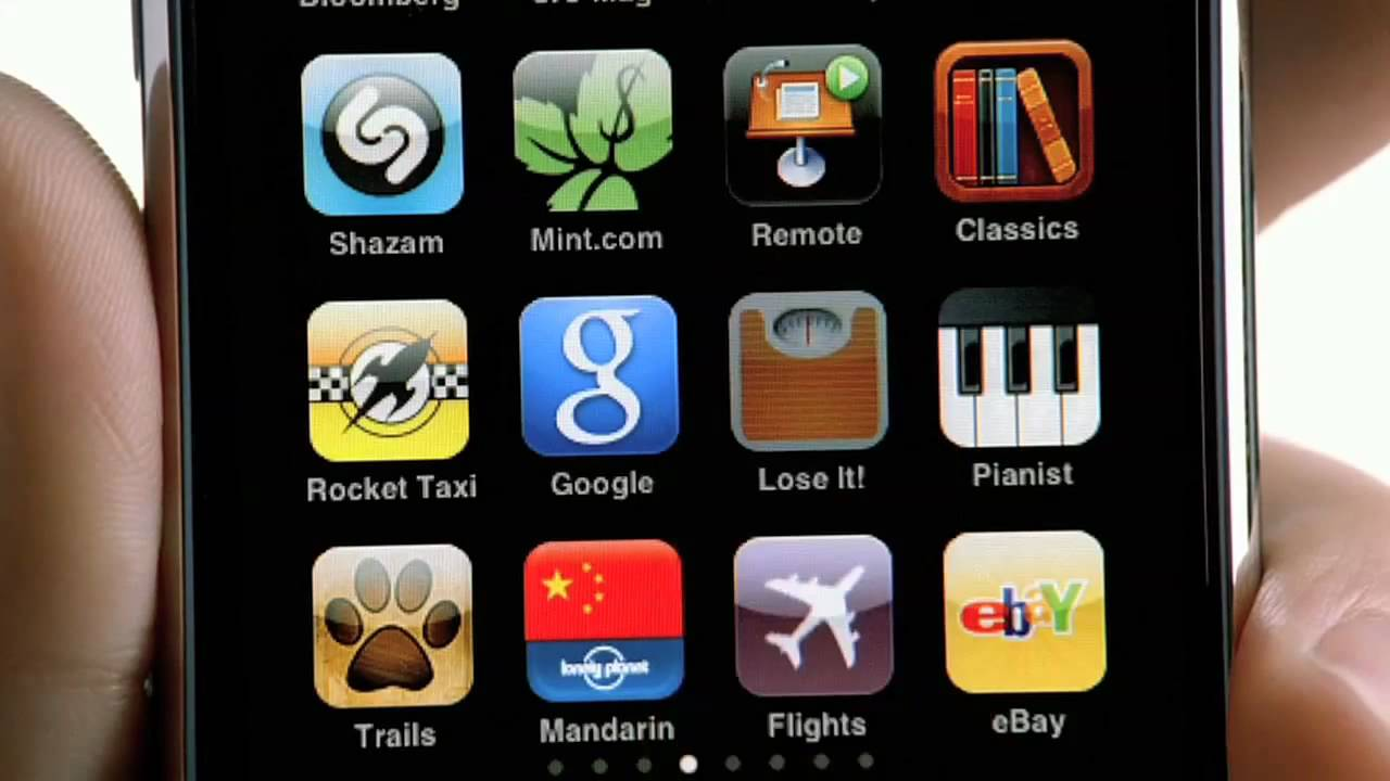 iphone 3g commercial there 39 s an app for that 2009 youtube. Black Bedroom Furniture Sets. Home Design Ideas