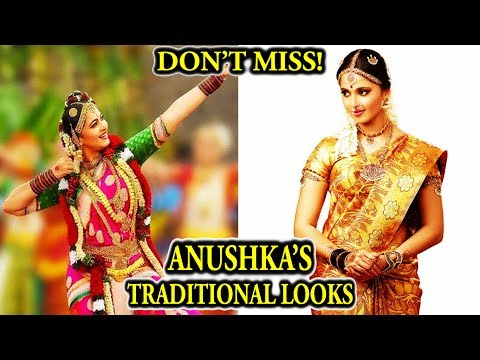 Thumbnail: Baahubali Actress Anushka Shetty's Top 20 Traditional Look | Which is Your Favourite Look?